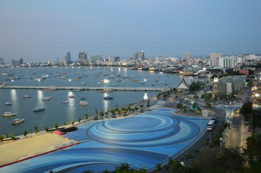 Pattaya Bay Scene