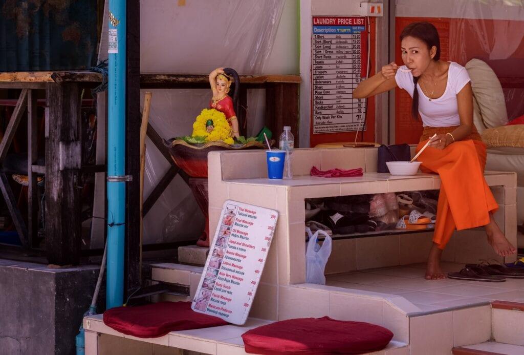 Massage Parlour Khao San Road