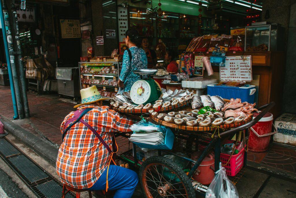 street food in bangkok thailand
