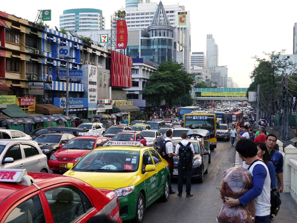 bangkok city taxi